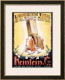 Heinlein Framed Giclee Print by Achille Luciano Mauzan