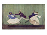 Carnaval, a Romantic Ballet to Music by Robert Schumann, Giclee Print