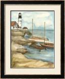 Shoreline Dock I Prints by Jennifer Goldberger