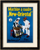 Machine a Coudre New Oriental Framed Giclee Print
