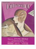 Delineator Cover, March 1928 Giclee Print