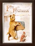Children's Alphabet Story Framed Giclee Print