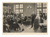 Charcot and Asylum Patient Giclee Print