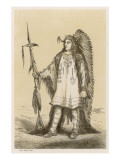Chief of the Mandan People Giclee Print