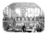 Court Room Scene, Mr M Naughten Trial Giclee Print