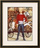 Little Cavalier Print by Tsuguharu Foujita