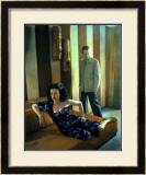 Pin-Up Girl: Kona Kai Motel Room Richie Maria Framed Giclee Print by Richie Fahey
