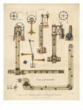 Coal Mine Machinery Giclee Print