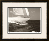 Gleam Racing I Limited Edition Framed Print by Cory Silken