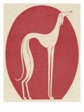 Fantasy Greyhound 1928 Giclee Print
