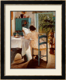 At Breakfast Prints by Lauritz Ring