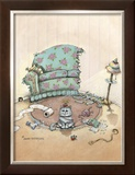 Miss Chievous Framed Giclee Print by Gary Patterson
