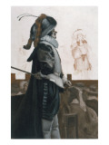 Cyrano at the Theatre Giclee Print