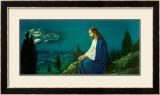 Christus am Olberg Art by  Giovanni