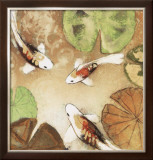 Koi Fest II Limited Edition Framed Print by Aleah Koury
