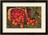Country Apples Poster by Levi Wells Prentice