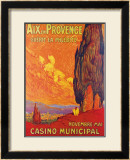 Aix en Provence Framed Giclee Print by M. Feguide