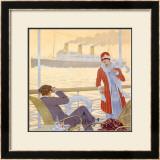 Bresil-Plata Framed Giclee Print by Sandy Hook