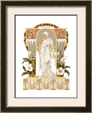 Four Seasons, Winter Framed Giclee Print by Elisabeth Sonrel