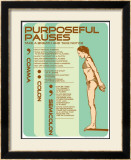 Punctuation: Purposeful Pauses Prints by Christopher Rice