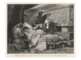 Chilperic and Fredegonde at the Tomb of St.Medard at Soissons Giclee Print