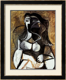 Woman in an Armchair Posters by Pablo Picasso