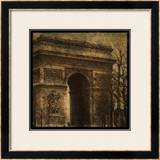 Arc de Triomphe Print by John Golden