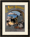 Le Maroc Framed Giclee Print by Leon Carre
