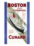 Cunard Poster Giclee Print