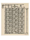 Babbage's Engine Giclee Print