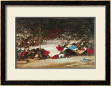 The Bullfight, c.1890/1900 Art by Eugenio Lucas Villamil