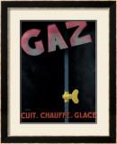 Gaz Framed Giclee Print by Francis Bernard