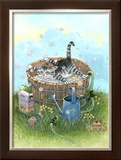 Bath Time Framed Giclee Print by Gary Patterson