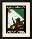 Automobiles Vermorel Framed Giclee Print by Joe Bridge