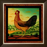 Hen Posters by Diane Pedersen