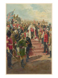 Edward VII Surrounded by His Loyal Subjects from All Parts of the British Empire Giclee Print