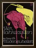 Vier Jahreszeiten Framed Giclee Print by Ludwig Hohlwein