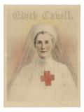 WWI Nurse Edith Cavell, Giclee Print