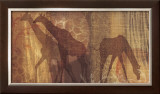 Safari Silhouette III Print by Tandi Venter