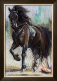 Warrior Framed Giclee Print by Dawn Emerson