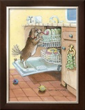 Rinse Cycle Framed Giclee Print by Gary Patterson