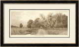 The Country Road in Sepia Prints by C. Harry Eaton