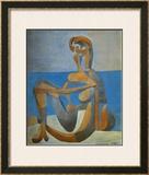 Baigneuse Assise au Bord de la Mer, c.1930 Prints by Pablo Picasso