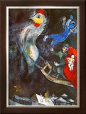 The Flying Horse Prints by Marc Chagall