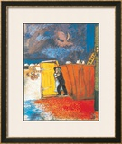 Claire de Lune Posters by Marc Chagall