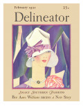 Delineator Front Cover, February 1927 Giclee Print