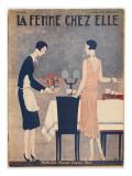 Dinner Dress 1929 Giclee Print