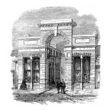 Entrance to the Agricultural Hall, Islington, 1862 Reproduction proc&#233;d&#233; gicl&#233;e