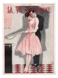 Cooking Crepes 1926 Giclee Print