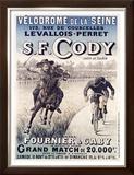 S.F. Cody vs. Fournier and Gaby Framed Giclee Print